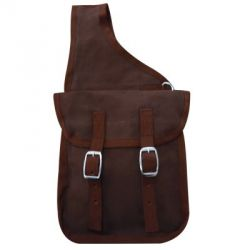 Nylon double saddlebags