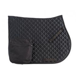 RANDOL'S Endurance saddle cloth with pockets Black