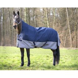 COUVERTURE EQUI THEME TYREX 600 D HIGH NECK 300G