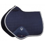 PROSPORT SUEDE CLOSE CONTACT SQUARE Navy blue / silver
