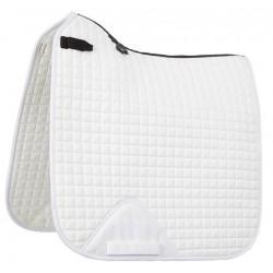 Tapis LeMieux dressage square - coton Blanc