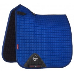 Tapis LeMieux dressage square - luxury Bleu benetton