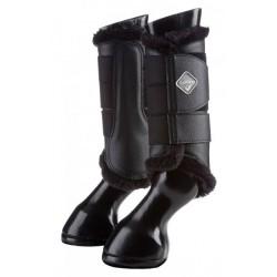 Lemieux Fleece Brushing Boots Black