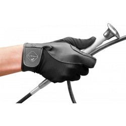 Lemieux Pro Touch Performance Riding Gloves Black
