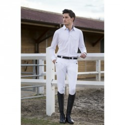 Equi-Theme Verona breeches, with pleats White / light grey