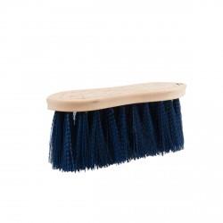 Brosse dure Horze avec dos en bois, 8 cm