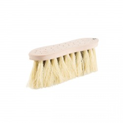Horze Wood Back Firm Brush w/natural mix bristles, 8cm