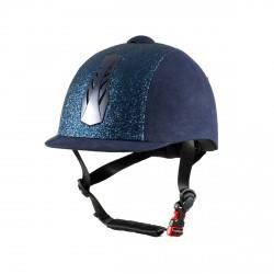 Horze Triton Galaxy Helmet blue / silver