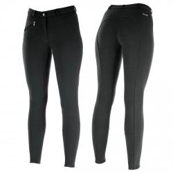 Pantalon Horze Active à fond silicone femme Noir