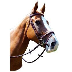 Privilege Equitation La Baule Snaffle With Flash Noseband