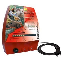 Pastor electrico hotSHOCK N50 Horizont 230V