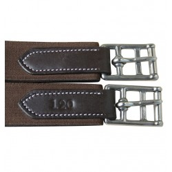 Privilege Equitation Anatomic Jumping Girth Brown