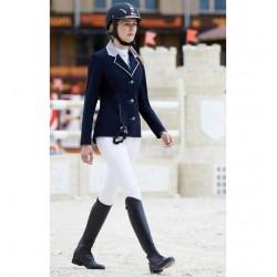 Chaqueta Airsafe Silver Privilège Equitation mujer Azul eléctrico