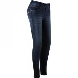 Equi-Theme Texas woman's jeans Denim blue