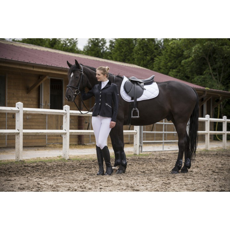 Equi Theme Soft White Competition Jacket Equi Theme