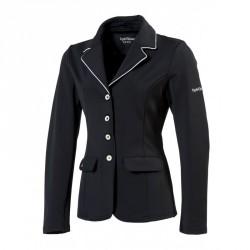 Equi-Theme Soft Light competition jacket Black / white
