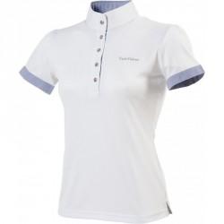 Equi-Theme Sky polo shirt, short sleeves