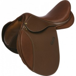 ERIC THOMAS FITTER All-purpose saddle, round cantle Black