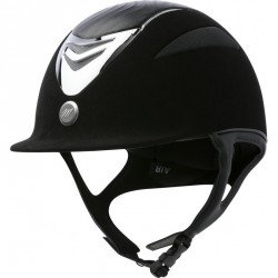 Casque EQUIT'M Air microfibre / cuir