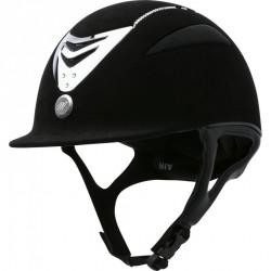 Casque EQUIT'M Air microfibre / cristal