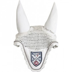 "EQUIT'M ""E.L. Blason"" fly mask White"