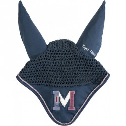"EQUIT'M ""E.L. M"" fly mask Navy"