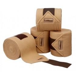 PONY LUXURY POLO BANDAGES Beige / brown