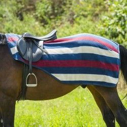 Couvre reins polaire Equi-Theme Stripe