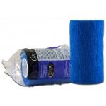 Bande cohésive Flex'on Horse Master Bleu 10 cm