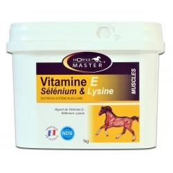 Vitamine E Selenium et Lysine Horse Master