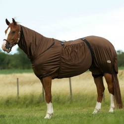 "EQUI-THÈME ""SWEET ITCH"" SHEET Brown"