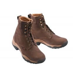 Boots Equi-Theme à lacets Dermo Dry Marron