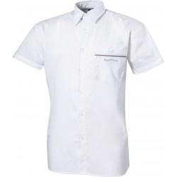 Chemise de concours Equi-Theme Marco manches courtes Blanc