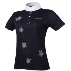 Equi-Theme Etoiles shirt short sleeves Navy