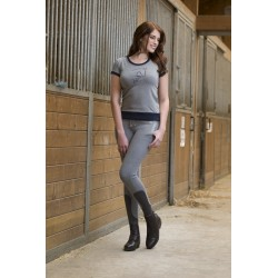 Tee-shirt femme Equi-Theme Jump Style manches courtes