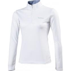 Equi-Theme Mesh polo shirt long sleeves - Tailored cut