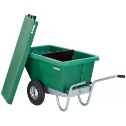 WHEEL BARROW FEEDING CART