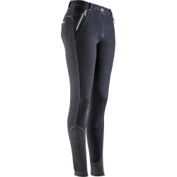 Equi-Theme Zipper breeches Black