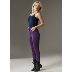 Pantalon Equi-Theme Pro Coton violet