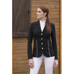 Equi-Theme Galon competition jacket Red