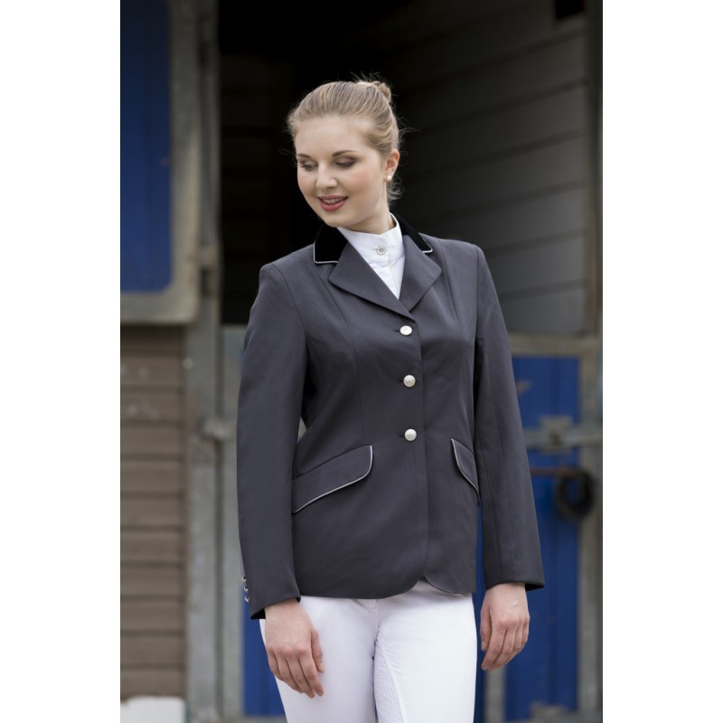 2ec88191a8 ... Equi-Theme Competition jacket Grey ...