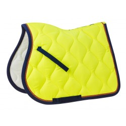 Equi-Theme Neon saddle pad Neon yellow