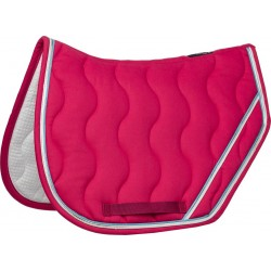 Equi-Theme Jump saddle pad Fuchsia