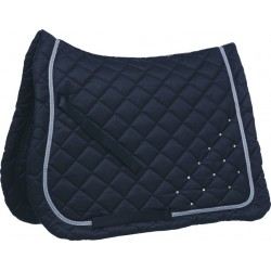 EQUI-THEME Samantha Diamond saddle pad Navy