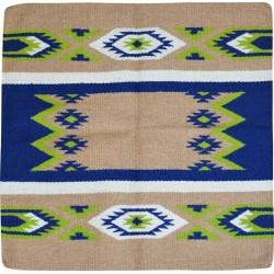 Randol's Texas Navajo wool horse pad Beige / green