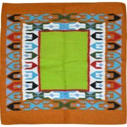 Randol's Navajo Tepee wool horse pad Brown / green