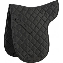 Special numnah for dressage saddle