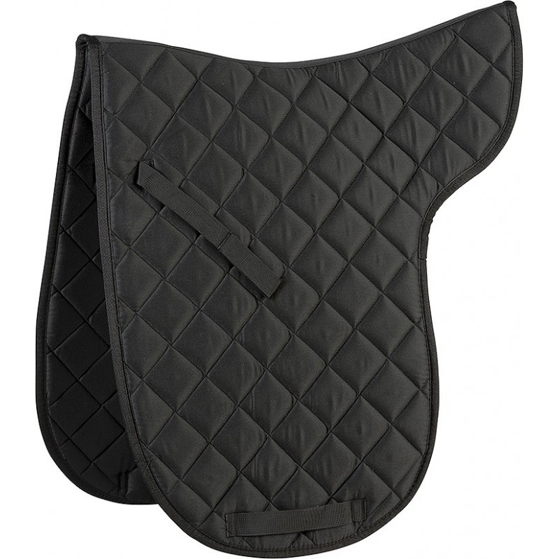 tapis de selle dressage riding world pour cheval. Black Bedroom Furniture Sets. Home Design Ideas