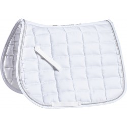 Equi-Theme Polyfil Epais saddle pad White