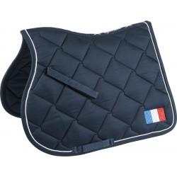 Equi-Theme Equestrian Team World saddle pad France Navy
